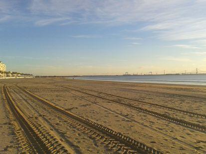Unas de las mejores playas de Cádiz.