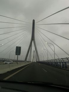 Puente La Pepa , Cádiz.